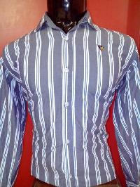Mens Striped Cotton Shirts