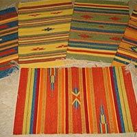 Hand Woven Cotton Carpets