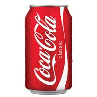 Cocacola Soft Drink 330ml Can