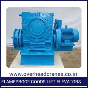 Flameproof Goods Lift Elevators
