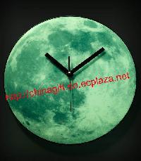 The Dark Moon Wall Clock