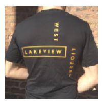 West Lakeview Liquors Logo T-Shirt