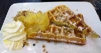 Apple Cream Waffle