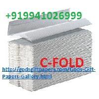 C-fold Hand Towel Tissue Paper