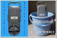Bucket mounted Washing machine