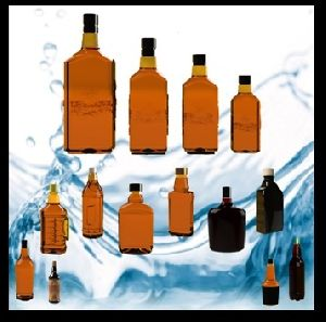 Plastic Pet Liquor Bottles