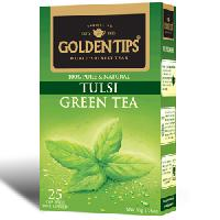 Golden Tips Tulsi Green Tea 25 Tea Bags