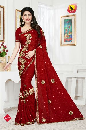 Regal Beauty Designer Party Wear Saree