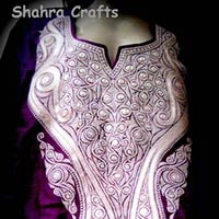 Matka Silk With Tilla Work