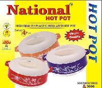 4 Pcs 900 Gms Hot Pot Set