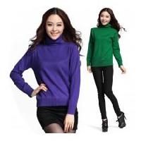 Ladies Polo Neck Sweater