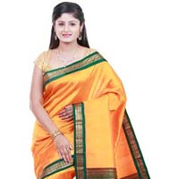 Zari Border Silk Saree