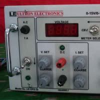 0-15 V/0-1A DUAL OUTPUT DC POWER SUPPLY