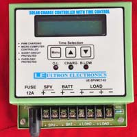SOLAR CHARGE CONTROLLER  WITH TIMER