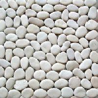 Supreme white pebble