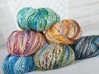 Multi Color Yarn