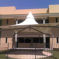 Tents, Parking Shades, Schools Shades, Canopies Pvc Fabric, Net Fabric