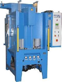 compressed air abrasive blasting machine