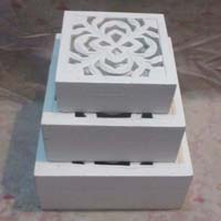 Wooden 3 Piece Jewellery Box Set