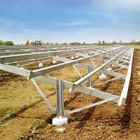 Solar Steel Mounting  Structure