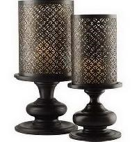 Pillar Candle Holder Set