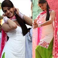 Aishwarya White Patiala Salwar Kameez