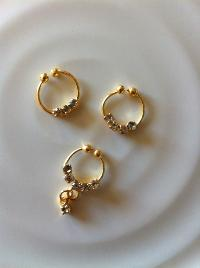 Gold Nose Rings
