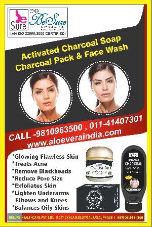 Activated Charcoal Aloe Vera Soap
