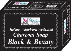 BeSure Aloe Vera Activated Charcoal Soap for Lighten Underams