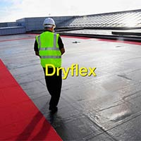 Reinforced Waterproof Membrane with Composit Polyester