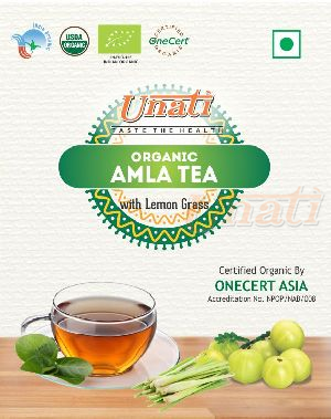 Organic Amla & Lemongrass Tea