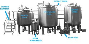 Oral Liquid Processing Plant