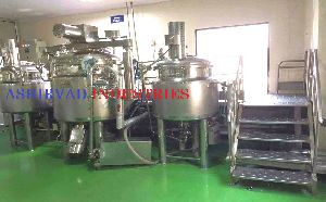 Ointment Processing Plant