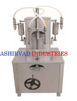 Semi Automatic Oral Liquid Filling Machine