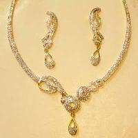 Sterling Silver Necklace Sets Neck - 3