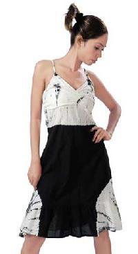 Cotton-hand-tie-dye-dress