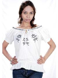 Cotton Ladies Top T-220B
