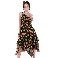 Daimond Cut Wrap Around Skirt