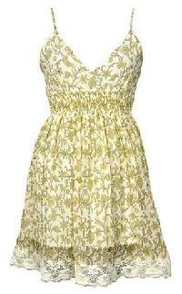 Georgette Hand Block Printed Dress