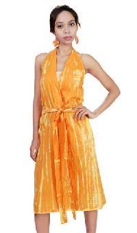 Halter Wrap Dress