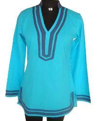 Plain Dyed Rayon Ladies Tunic