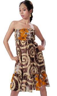 Sari Bustier Dress