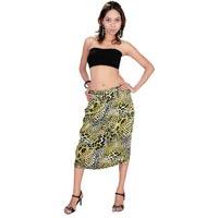 Satin Blend Polyester Skirt