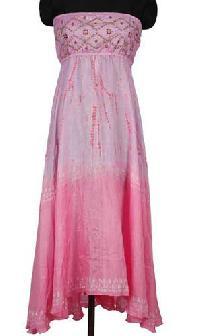 Silk Bustier Dress