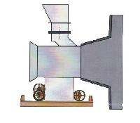 Movable Inlet Chute For Cement Mill