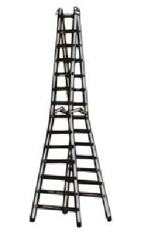 Aluminium Double Steps Trestle Ladder