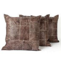Leather Cushions With Sgs Lab Tests