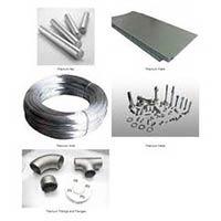 Titanium Wire, Sheet, Plates