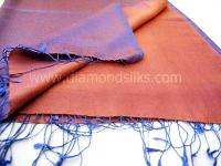 Silk Cashmere Stole - (ds Ft 09 Aa)