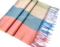 Silk Cashmere Stole - (ds Ft 10 Fb)